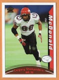 Darnell McDonald 2004 Pacific CFL card #20 Calgary Stampeders  Kansas State Wildcats