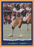 Darrell Corbin CFL card 1989 Jogo #16 Hamilton Tiger-Cats  South Carolina State Bulldogs