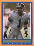 Darrell Smith CFL card 1988 Jogo #77 Toronto Argonauts  Central State Marauders  Hall of Fame