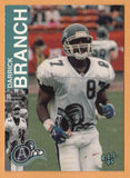 Darrick Branch CFL card 1995 REL #175 Toronto Argonauts  Hawaii Warriors