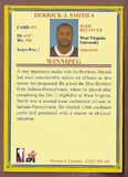 Derrick Smith CFL card 2004 Jogo #191 Winnipeg Blue Bombers  West Virginia Mountaineers