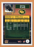 Donny Brady 2004 Pacific CFL card #25 Edmonton Eskimos  Wisconsin Badgers