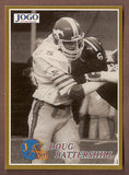 Doug Battershill CFL card 1995 Jogo Missing Years #9D Calgary Stampeders Weber State Wildcats