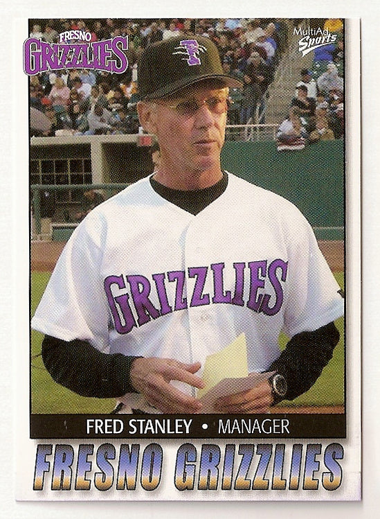 Fred Stanley 2004 Fresno Grizzlies Minor League Baseball  Monte Vista Monarchs  |  Seattle Pilots New York Yankees Cleveland Indians Oakland Athletics San Diego Padres