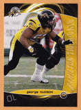 George Hudson CFL card 2008 Extreme #43 Hamilton Tiger-Cats  New Mexico State Aggies