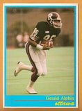 Gerald Alphin CFL card 1987 Jogo #5 Ottawa Rough Riders  Kansas State Wildcats