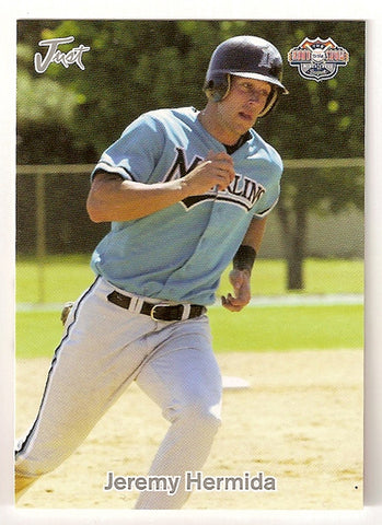 Jeremy Hermida 2005 Just Minors Road to the Show Minor League Baseball Gulf Coast League Marlins  Wheeler Wildcats  |  Florida Marlins San Diego Padres Boston Red Sox Cincinnati Reds Oakland Athletics