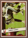James Curry CFL card 1985 Jogo #29 Toronto Argonauts  Nevada Reno Wolf Pack