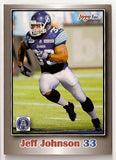 Jeff Johnson CFL card 2012 Jogo #94 Toronto Argonauts  York Lions