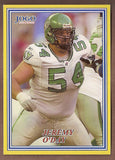 Jeremy O'Day CFL card 2004 Jogo #14 Saskatchewan Roughriders  Edinboro Fighting Scots