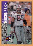 Big Bad Jon Heidenreich CFL card 1995 REL #118 Shreveport Pirates  Louisiana Monroe ULM Warhawks  WWE Road Warriors