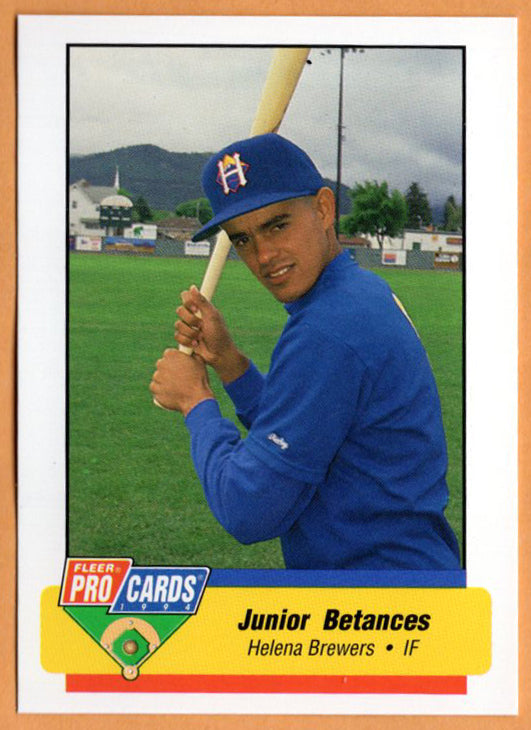 Junior Betances 1994 Helena Brewers Minor League Baseball  La Vega, Dominican Republic
