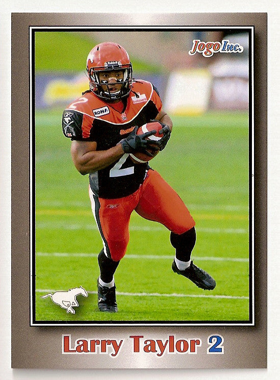 Larry Taylor CFL card 2012 Jogo #189 Calgary Stampeders  Connecticut UConn Huskies
