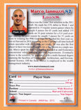 Marco Iannuzzi CFL card 2012 Jogo Pro Player #64 BC Lions  Harvard Crimson