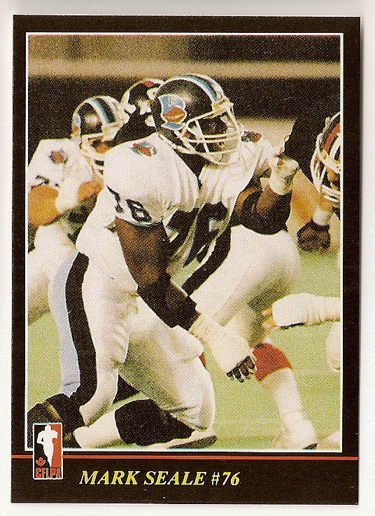 Mark Seale CFL card 1986 Jogo #32 Toronto Argonauts  Richmond Spider