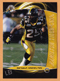 Markeith Knowlton CFL card 2008 Extreme #44 Hamilton Tiger-Cats  North Texas Mean Green