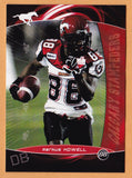 Markus Howell CFL card 2008 Extreme #92 Calgary Stampeders  Texas Southern Tigers