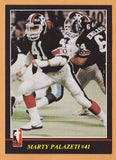 Marty Palazeti CFL card 1986 Jogo #133 Ottawa Rough Riders  Marshall Thundering Herd