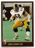 Mike Derks CFL card 1986 Jogo #6 Hamilton Tiger-Cats  Cincinnati Bearcats