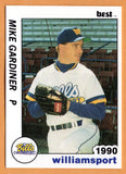 Mike Gardiner 1990 Williamsport Bills Minor League Baseball  Indiana State Sycamores  Sarnia Collegiate Institute Blue Bombers  |  Seattle Mariners Boston Red Sox Montreal Expos Detroit Tigers