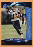 Mike Vanderjagt CFL card 2008 Extreme #38 Toronto Argonauts  West Virginia Mountaineers  Indianapolis Colts Idiot Kicker