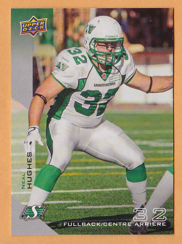 Ben Heenan 2014 Upper Deck CFL card #70 Saskatchewan Roughriders  Saskatchewan Huskies