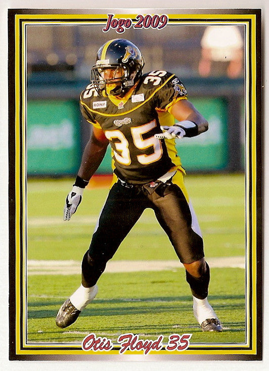 Otis Floyd CFL card 2009 Jogo #170 Hamilton Tiger-Cats  Louisville Cardinals