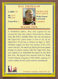 Ray Thomas CFL card 2004 Jogo #170 Hamilton Tiger-Cats  Wake Forest Demon Deacons
