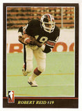 Robert Reid CFL card 1986 Jogo #21 Ottawa Rough Riders  Simon Fraser Clansmen