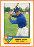 Roberto Ruberto Escalet 1994 Helena Brewers Minor League Baseball  Levittown, Puerto Rico  Mary Hardin-Baylor Crusaders  Baylor Bears