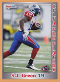 S.J. Green CFL card 2012 Jogo Pro Player #147 Montreal Alouettes  South Florida Bulls