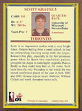 Scott Krause CFL card 2004 Jogo #101 Toronto Argonauts  UW-Stevens Point Pointers