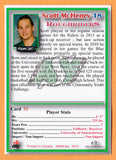 Scott McHenry CFL card 2012 Jogo Pro Player #52 Saskatchewan Roughriders  Saskatchewan Huskies