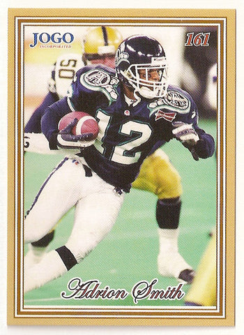 Adrion Smith CFL card 2001 Jogo #161 Toronto Argonauts  Southwest Missouri State Bears