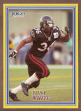Tony White CFL card 2004 Jogo #2 Ottawa Renegades  UCLA Bruins