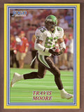 Travis Moore CFL card 2004 Jogo #21 Saskatchewan Roughriders  Ball State Cardinals