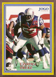 Uzooma Okeke CFL card 2004 Jogo #145 Montreal Alouettes  Southern Methodist SMU Mustangs  Hall of Fame