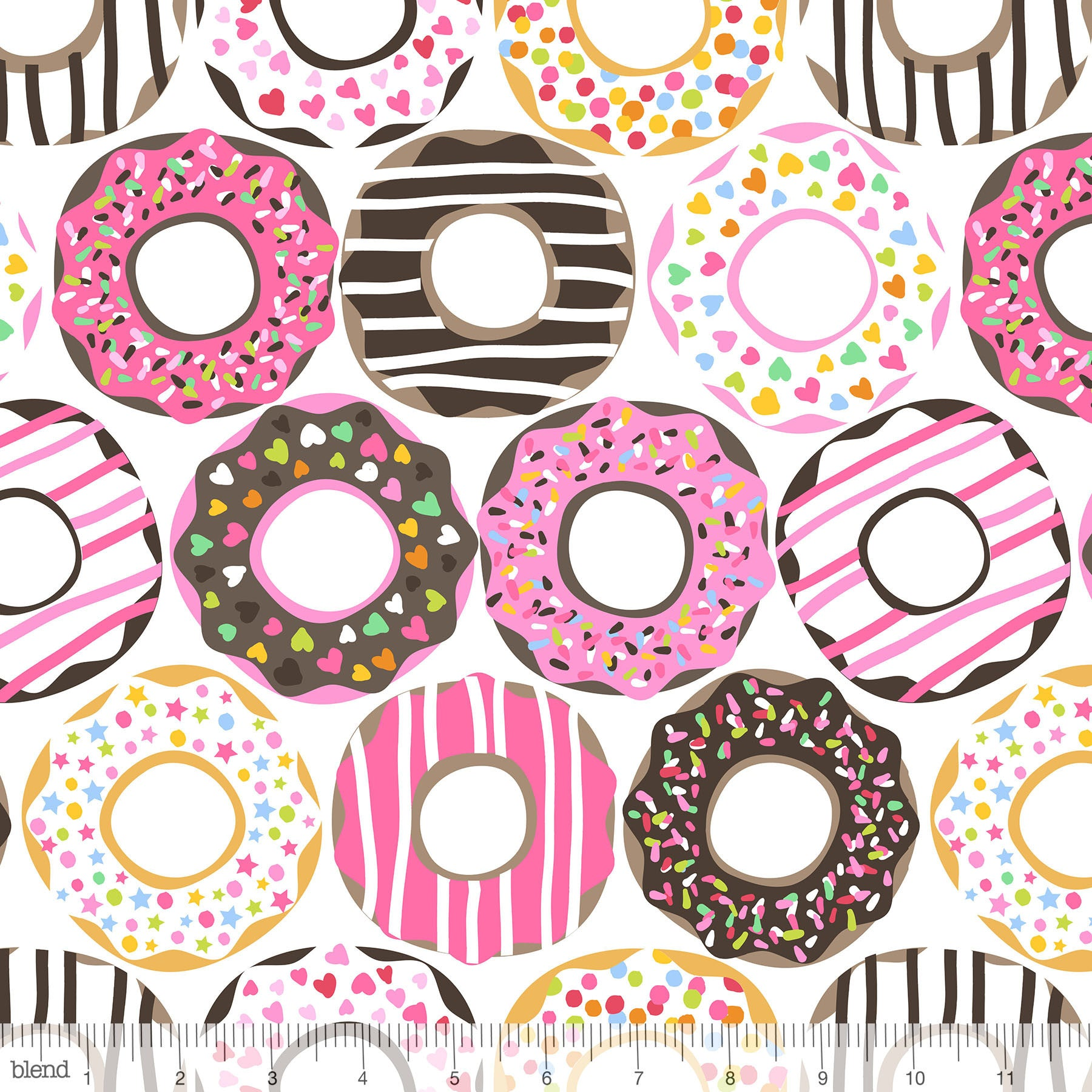 Lolly Doughnut Love White