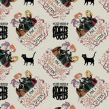 Disney's Hocus Pocus Sanderson Sisters on Cream By Camelot Fabrics