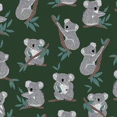 Forest Koala Bears Flannel