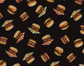 Hamburger Scatter Cotton