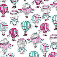 Hot Air Balloons White
