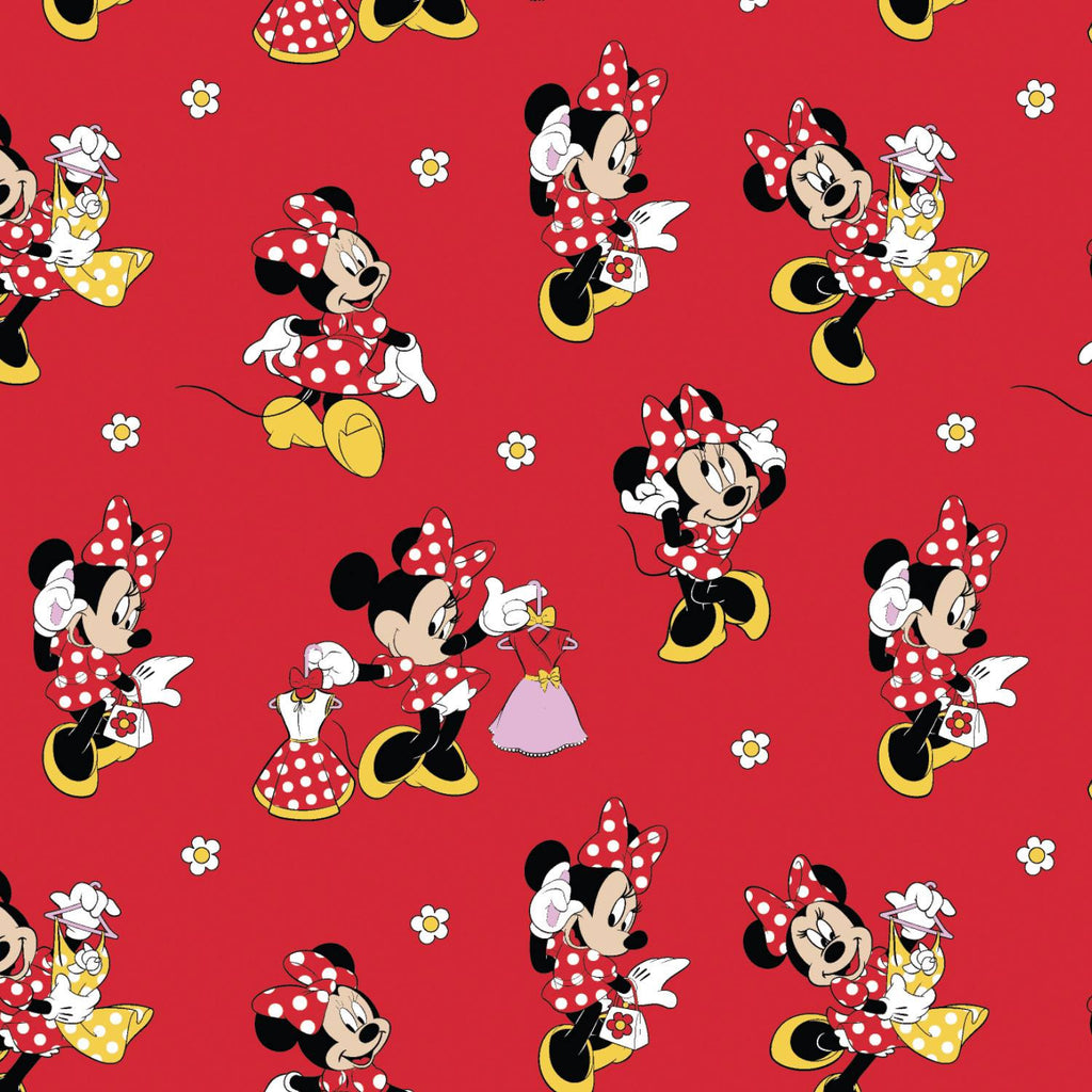 Minnie Mouse Loves Dresses