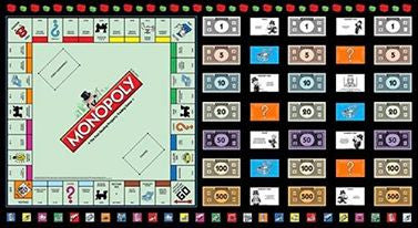Monopoly Board Game Panel