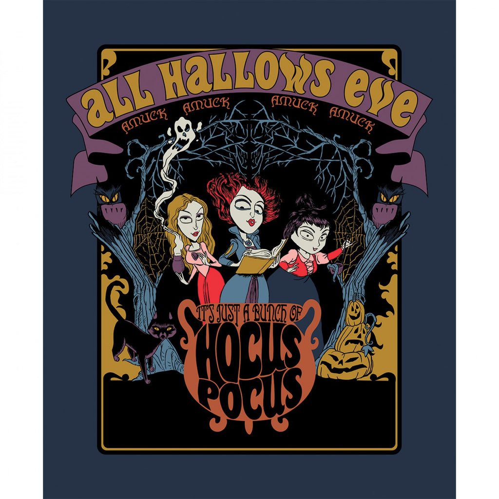 Disney's Halloween Hocus Pocus Panel By Camelot Fabrics