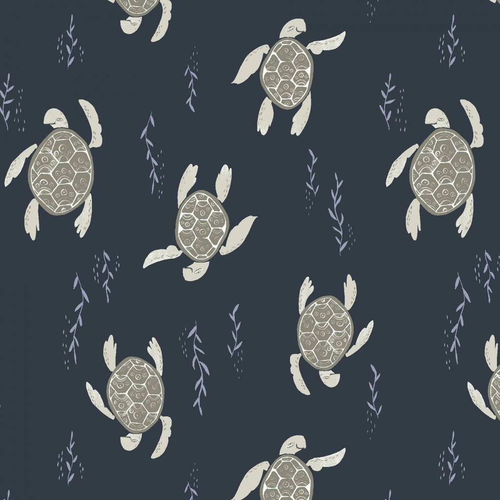 Navy Swimming Turtles