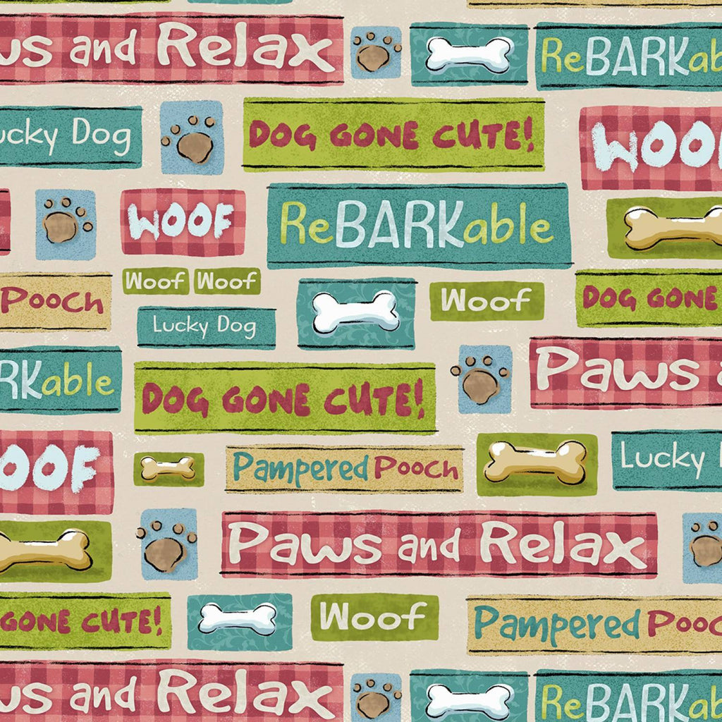 Pampered Pooch Words
