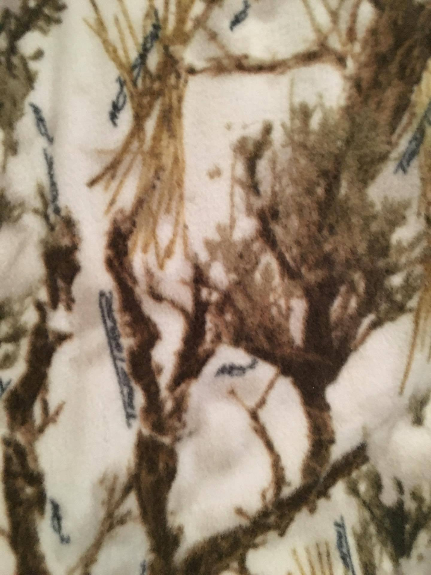 Real Tree Winter  Fleece