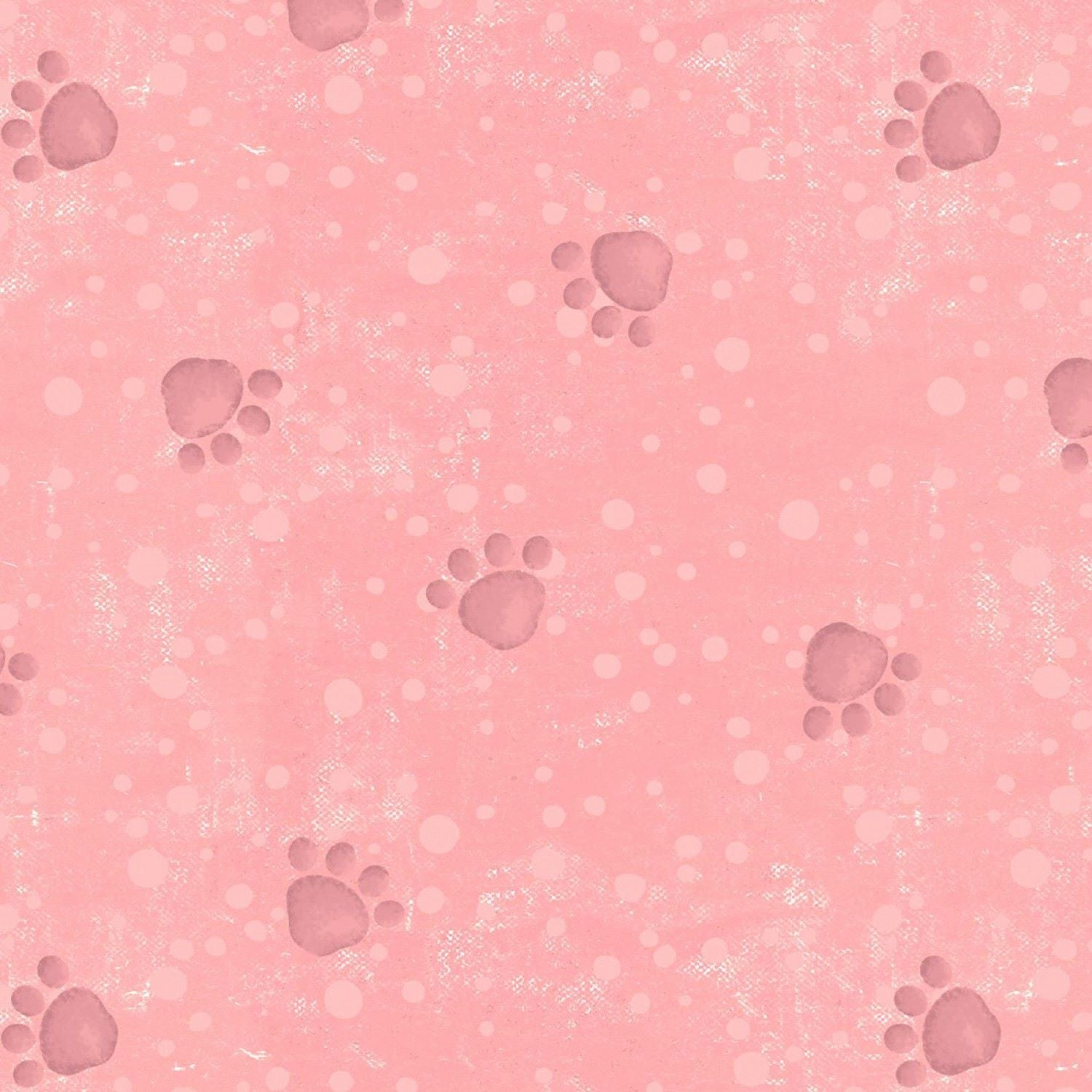 Pampered Pooch Rose Paw Prints