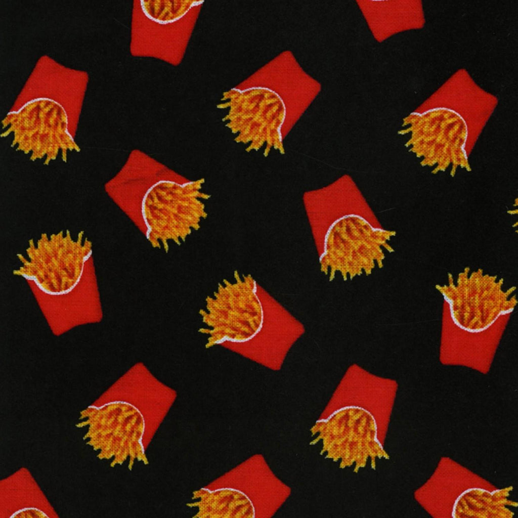 French Fries Scatter Cotton